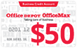 Office Depot Credit Card