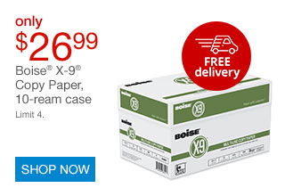 $26.99 Boise® X-9® case paper | SHOP NOW